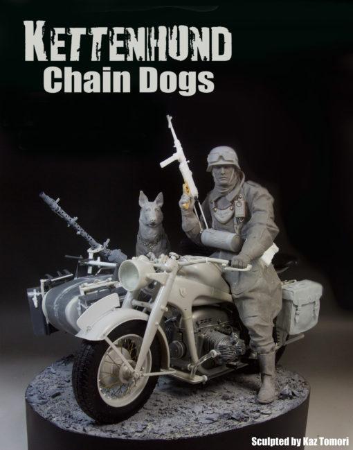 """Kettenhund"" Zundapp KS750 Motorcycle Rider"