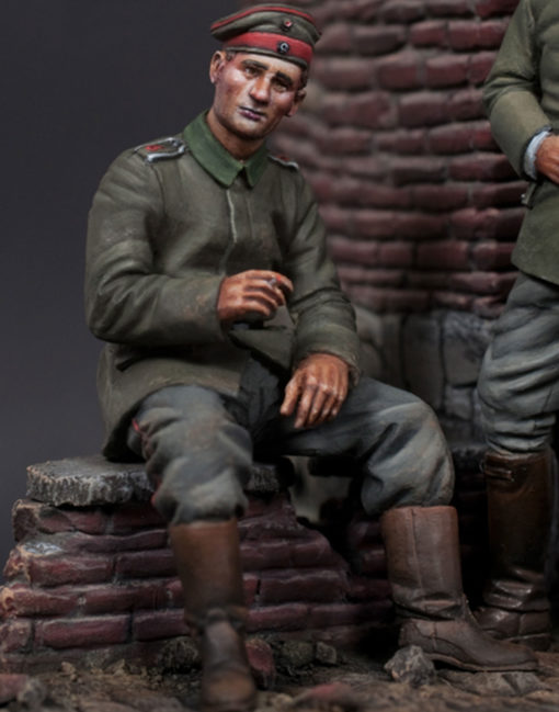 WWI German - seated