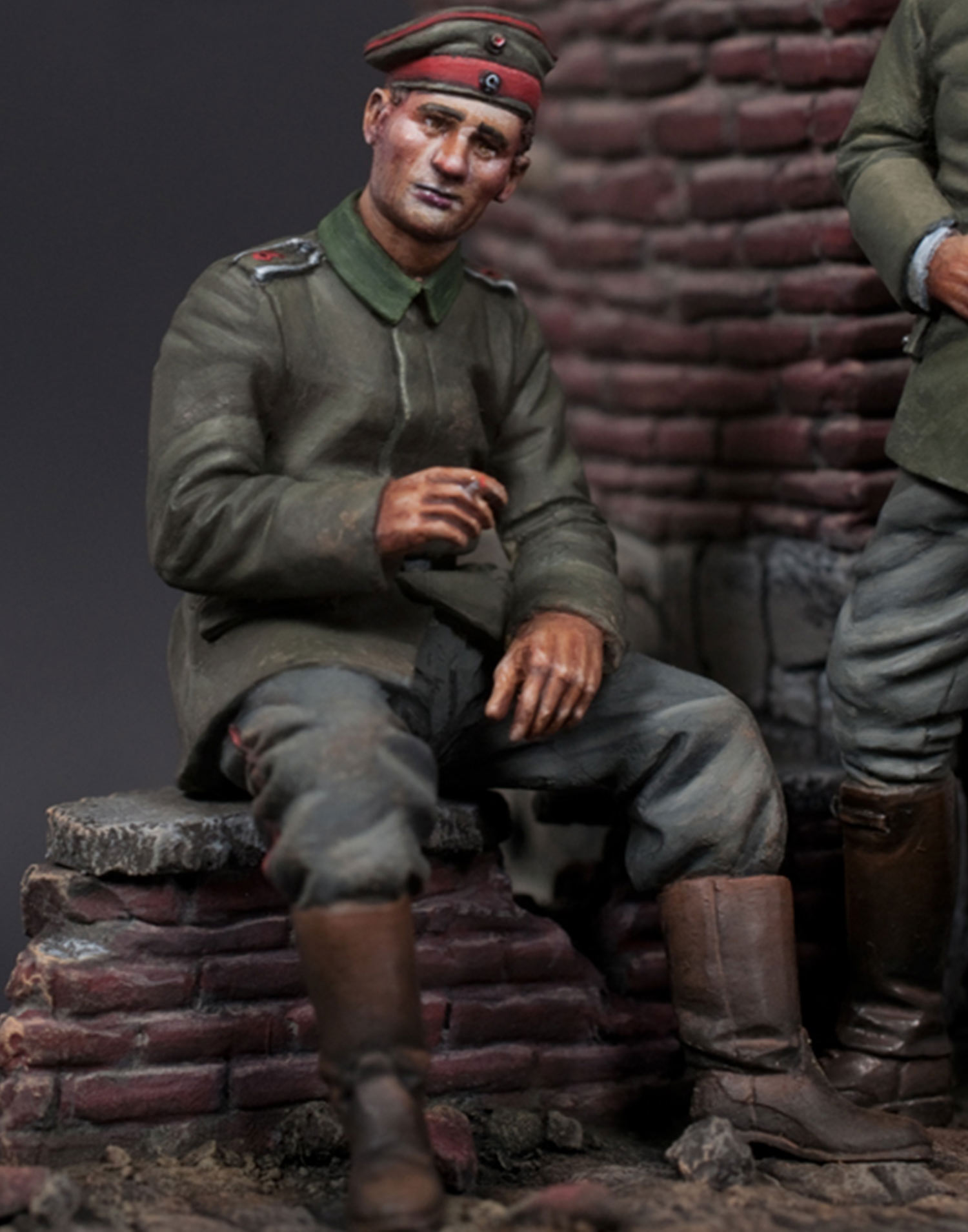 WWI German - seated
